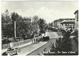 1953, Padova - Abano Terme - Via Pietro D´Abano. - Padova