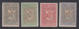 Romania 1906 - Michel 173-176 Mint Hinged * - 1881-1918: Charles I