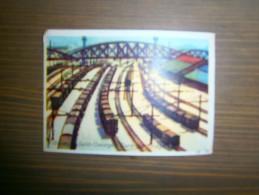 IMAGE  8,5 X 6 CM     VILLENEUVE SAINT GEORGES  GARE DE TRIAGE - Old Paper