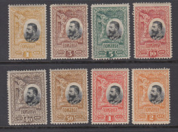 Romania 1906 - Michel 177-180, 181-186 Mint Hinged * - 1881-1918: Charles Ier