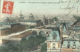 PARIS 4 - Vue Prise De L'église Saint-Gervais -- LD - Arrondissement: 04