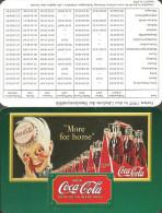 COCA-COLA * SOFT DRINK * CALENDAR * Coca-Cola 1997 * Germany - Calendriers