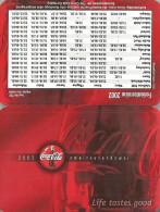 COCA-COLA * SOFT DRINK * CALENDAR * Coca-Cola 2002 * Germany - Tamaño Pequeño : 2001-...