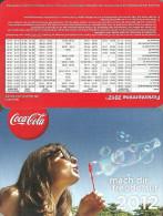 COCA-COLA * SOFT DRINK * WOMAN * GIRL * CALENDAR * Coca-Cola 2012 * Germany - Tamaño Pequeño : 2001-...