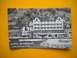 Cpsm  FLUELEN  -  Suisse  -  Hotel Sternen & Urnerhol - UR Uri