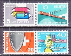 SWITZERLAND  359-62   * - Zwitserland