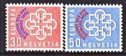 SWITZERLAND  376-7    * - Zwitserland