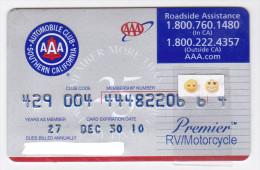 USA - AAA / Autmobile Club De Californie - 2ème Modèle - Other Collections