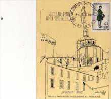 84 AVIGNON  Journee Du Timbre 1967, Obliteration, Timbre,illustrateur Andre Rodet, Facteur, - Avignon