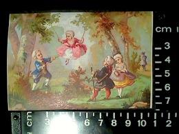 CHROMO BOGNARD BOG 3-71 Scènes XVIIème N°2 Escarpolette Balançoire - Autres