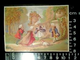 CHROMO BOGNARD BOG 3-71 Scènes XVIIème N°4 Accueil D'une Visite Au Perron - Autres