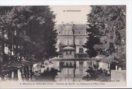 Carte 1910 BELLOU EN HOULME / Domaine De Dieufit : Le Château Et La Pièce D'eau - France