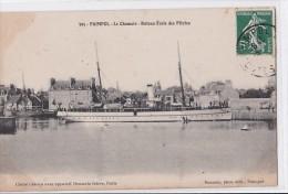 Carte 1910 PAIMPOL / LE CHAMOIS- BATEAU ECOLE DES PILOTES - Paimpol