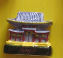 F�ve  -  Samourais - Temple