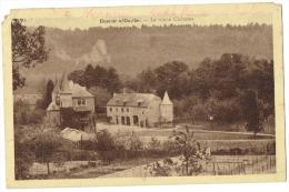 CP Hamoir (vue +rare) - 1941 - Le Vieux Château - Abimée - Cachet Postal Hamoir Centre Ville