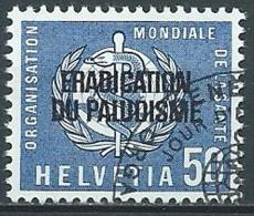 1962 SVIZZERA USATO SERVIZIO LOTTA CONTRO LA MALARIA - Officials
