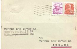 ESATTORIA COMUNALE CIVITELLA DEL TRONTO - 1961-70: Storia Postale