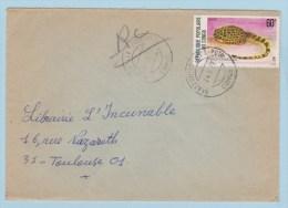 CONGO   //  Enveloppe De Brazzaville  //  Pour Toulouse //   24/8/1977 - Congo - Brazzaville