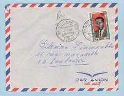 CONGO   //  Enveloppe De Pointe Noire       //  Pour Toulouse //  8/7/1966 - Used