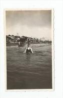 Photographie , 11 X 6.5 , PORNICHET , 1935 , La Plage , 2 Scans - Lieux