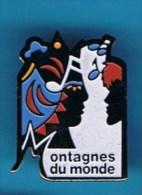 PIN�S //  . MONTAGNES DU MONDE