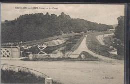 CHATILLON - Sur - LOIRE . Le Canal . - Chatillon Sur Loire