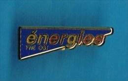 PIN�S //  . ENERGIES FNE CGT. (Metargent Paris)