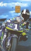 TARJETA MOTOS DANI PEDROSA DE TIRAJE 251000 (MOTO-MOTORBIKE) - Motos