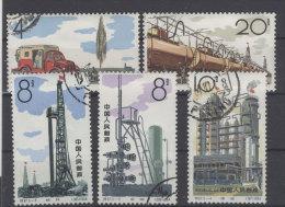 China Michel No. 827 - 831 gestempelt used