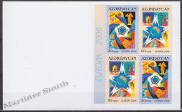Azerbaidjan - Azerbaijan - Azerbaycan 2006 Yvert C538a, Europa Cept, Integration - Booklet - MNH - Azerbaiján