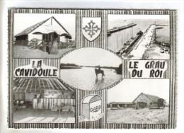 CPSM LE GRAU DU ROI (Gard) - La Cavidoule Restaurant 5 Vues - Le Grau-du-Roi