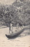 Afrique - Scènes Et Types - Piroguiers  - Cachet Tamatave 1901 - Marquise Ruolz Chateau Chiloup Dagneux Ain - Non Classificati