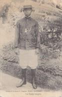 Afrique - Madagascar / Dandy Indigène Mode Homme - Editeur Ghigiasso Librairie/ Cachet Bleu Tamatave Vatomandry 1906 - Madagascar