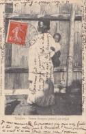 Afrique - Madagascar - Tamatave Types Indigènes - Femme Borizano Et Son Enfant - Cachet Les Arcs Sur Argens Var 1907 - Madagascar
