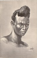 Afrique - Madagascar -  Types Indigènes - Bel Homme Bara Gouaches Roussel - Editeur Stavy - Madagascar