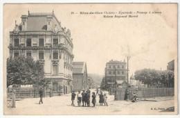 42 - RIVE-DE-GIER - Egarande - Passage à Niveau - Maison Regnaud Marrel - BF 24 - Rive De Gier