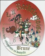 ROCHEFORT ..-- LA ROCHEFORTOISE BRUNE . Sous - Bock . 165 MM X 135 MM . Verso Idem !! - Beer Mats
