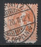 011415 Sc22 UPPER SILESIA - POLAND/GERMANY - BRIDGE CDS [?]RNITZ//[?]Z. OPPELN)a [LESS CORNER PERF.] - Silesia (Lower And Upper)