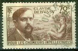 Claude Debussy, Musicien - FRANCE - 1939 - N° 437 - France