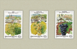 Hungary 1997. Wein - Drinks Set MNH (**) Michel: 4464-4466 / 1.20 EUR - Wines & Alcohols
