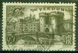 Verdun, La Porte Chaussée - FRANCE - 1939 - N° 445 - Francia