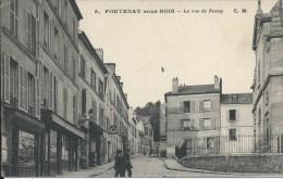 FONTENAY SOUS BOIS (94 - Val De Marne) - La Rue De Rosny (Animée, Personnes, Commerces, Le Petit Bazar ... ) - Fontenay Sous Bois