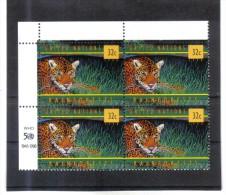 BLO837  UNO NEW YORK 1998  Michl  783 ECKRAND VIERERBLOCK  ** Postfrisch - Ungebraucht