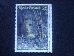 """POLYNESIE  FRANCAISE  ( O )  De 1994   """"   Tahiti  D 'Autrefois   """"    N° 461    1 Val . - Gebraucht"""