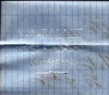RARE ENTETE TALLET à EYMET 5ordogne  1870 POUR VICTOR FOUR FABRICANT ALUMETTES MARSEILLE B.E. V.SCANS - Francia