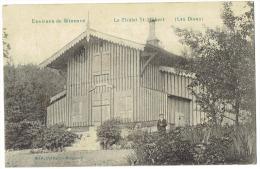 CP Beauraing - Winenne - Les Dions - Le Chalet St Hubert - 1911 - Animée - RARE - - Beauraing