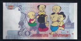 """Fantasie Note """"50 Units THAILAND"""", Typ A, Beids. Druck, UNC, 140 X 70 Mm, Fantasy, """"Comic"""" - Thailand"""