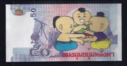 """Fantasie Note """"50 Units THAILAND"""", Typ B, Beids. Druck, UNC, 140 X 70 Mm, Fantasy, """"Comic"""" - Thailand"""