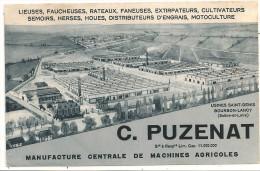Cpa71 Bourbon-lancy  C Puzenat - France
