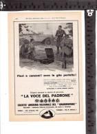 C-687 SOCIETA ANONIMA NAZIONALE DEL GARMMOFONO TORINO MILANO ROMA PUBBLICITA - Autres